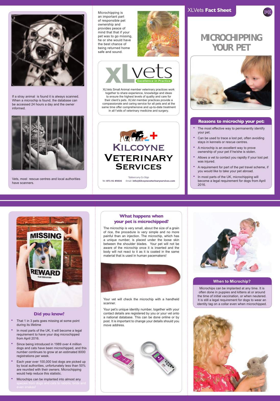kilcoyne_veterinary_services_XLVets_Factsheet_Microchipping