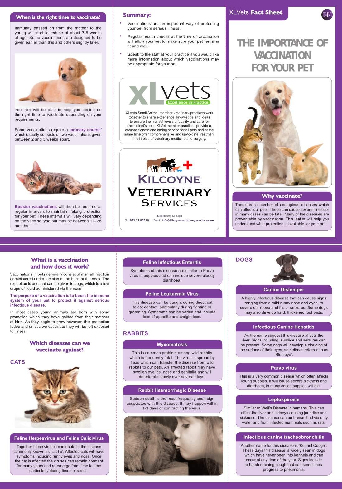 kilcoyne_veterinary_services_xlvets_factsheet_vaccinations